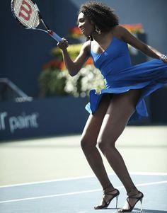 Serena for Harper's Bazaar.... She can do it... In heels!