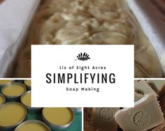 Say Little Hen: Simplifying Soap Making for Beginners Little Hen, Soap Making Supplies, Homemade Soap Recipes, Soap Base, Down On The Farm, Soap Molds, Home Made Soap, Handmade Soaps, Bar Soap