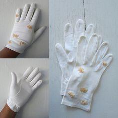 1950s dress gloves   vintage 50s formal gloves   beaded formal gloves   dress gloves   small - medium   The Grandville Gloves by VivianVintage8 on Etsy