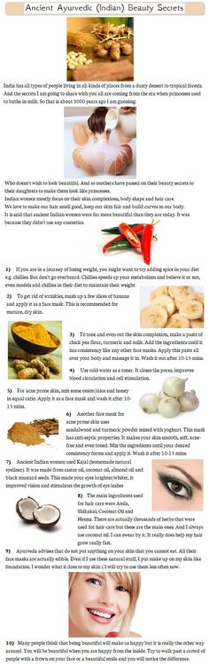DIY-Indian Beauty Secrets