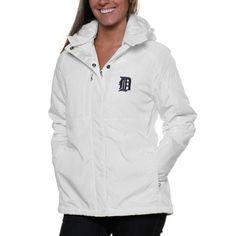 Antigua New York Yankees Women's Trek Full Zip Hooded Jacket - White Yankees Outfit, Yankees Gear, Yankees T Shirt, Ny Yankees, New York Yankees Apparel, Tiger Clothing, Tiger Lady, Lsu Tigers, Detroit Tigers