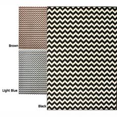 Chevron Rug.  On sale on overstock for $154. I have the black & white run in my living room
