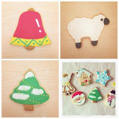 Christmas edition cookies! Can't wait for another christmas.. :D