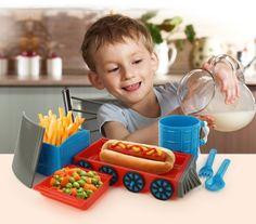 KidsFunwares Chew Chew Train Place Setting