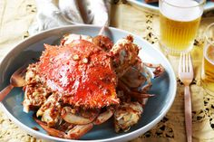 Kylie Kwong - chilli crabs