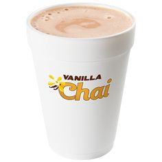 Dublin Donuts Vanilla Chai. Jake you must must must try this with pumpkin added! You love chai and pumpkin and together it's the bomb!!!! Do it!!