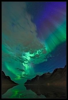 Northern Lights - one of the natural seven wonders of the world/ always a must for me