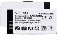 Empire Scientific CPP-555 Plantronics Bt-191665 3.7V 240Mah Li-Pol Battery