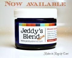 Jeddy's Blend Salve - A Naturals Alternative that may help with ADHD, ADD, Anxiety, TMJ, PTSD and more. Now available while supplies last you will receive a TWO PACK of 2 oz. JB Salve with two complimentary empty glass pocket pals.