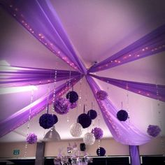 Best Quince Decorations Ideas for Your Party Sweet 16 Themes, Sweet 16 Decorations, Quince Decorations, Quinceanera Decorations, Quinceanera Party, Purple Party Decorations, Candy Centerpieces, Party Ceiling Decorations, Wedding Centerpieces