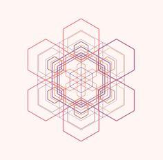 Generative Snowflake Raphaël.JS