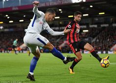 Eden Hazard & Andrew Surman: Bournemouth 0-1 Chelsea, 28 Oct 17