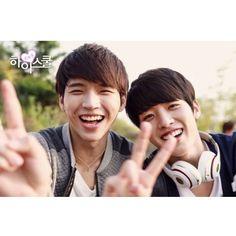 High School : Love On   Woohyun and Sungyeol