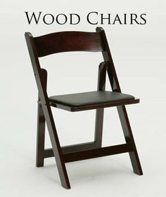 the planning process: event element / Wood Folding Chair