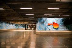 Stockholm Subway Art, Sweden