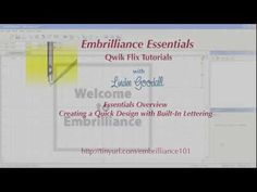 ▶ How to combine embroidery designs in Embrilliance Essentials software - YouTube