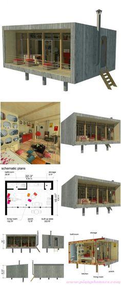 Sheena tiny house plans