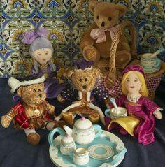 Teddy bears picnic at Hampton Court Palace