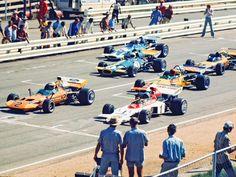 Dave Charlton and John Love One Championship, Gilles Villeneuve, Checkered Flag, Classic Motors, F1 Drivers, Formula One, Grand Prix, Motorbikes, Race Cars