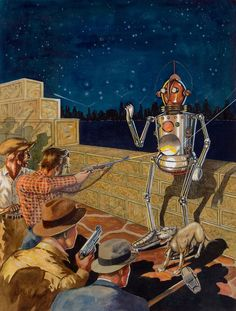 """I, Robot --  """"It's diff'ernt--KILL IT!""""  No wonder the space neighbors don't invite us over, lol!"""