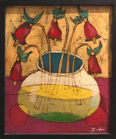 Michael Banks, Home Projects, Folk Art, Art Gallery, Survival, Drawings, Frame, Floral, Artist