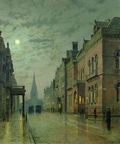 Park Row, Leeds - John Atkinson Grimshaw 1882