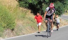 Cronoescalada en las Menas de Serón #ciclismo #Almeria #deportes
