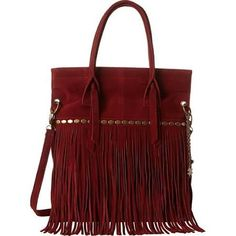 Lucky Brand Nirvana Crossbody Tote Tote Handbags Cranberry : One Size