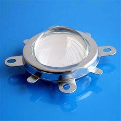 1 Set 20W 30W 50W 70W 100W 120W LED 44mm Lens + Reflector Collimator + Fixed Bracket