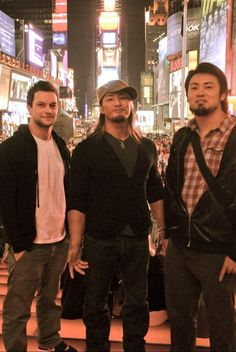 There WAS a time when all 3 of us could get along... A long time ago! NOW these 2 make me sick. #njpw  #g123