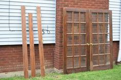 French Doors, 36 x 80, Wood, Lots of Glass, w/Handles Call, email or text: 216 -333-22 one nine I will not respond to emails/texts asking if this item is still for sale.