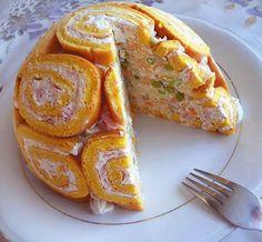 Kuhinja i ideje: Slana šarlota Mozzarella Salad, Serbian Recipes, Torte Cake, Salty Snacks, Cooking Recipes, Healthy Recipes, Sweet Recipes, Bakery, Good Food
