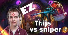 Thijs contructed: Reno Freeze mage vs rank 10 Sniper Warrior