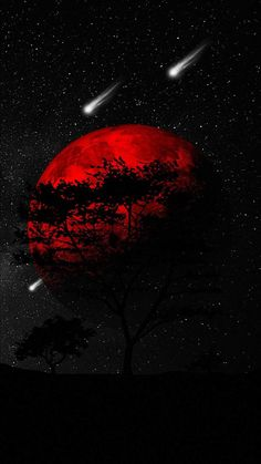 Red Planet Dark Tree   Red and black wallpaper, Dark red wallpaper, Dark wallpaper iphone