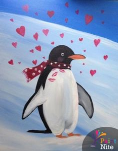 Paint Nite Dc | Shaws Tavern 2/12/15