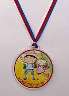 medaile pro školáky Washer Necklace, Jewelry, Jewlery, Jewels, Jewerly, Jewelery, Accessories