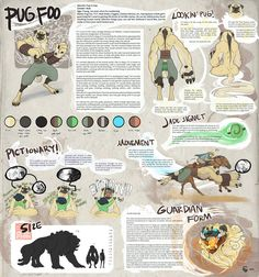 Pug Foo Reference DL by SilverMender.deviantart.com on @deviantART