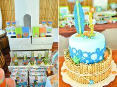 bolo falso pool party festa na piscina - Pesquisa Google