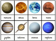 Crapouillotage: Nomenclature Maps: The Solar System, Space - Miriam Andrews Photo Page Solar System Activities, Solar System Projects, Infant Activities, Activities For Kids, Constellations, Space Solar System, Planet For Kids, Astro Science, Life Science