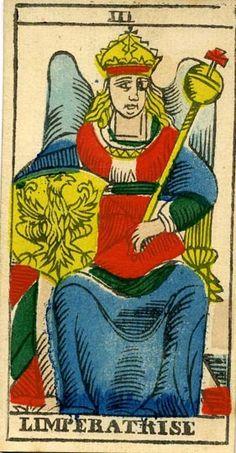 III l'Imperatrice | Tarocco Marsigliese