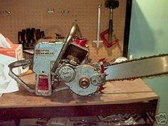 Vintage david bradley chainsaw