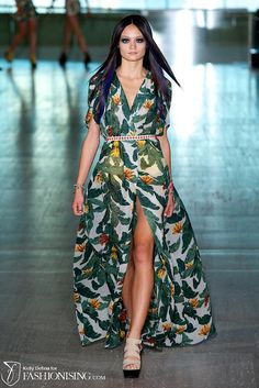 Loving this Lisa Ho dress! #mbsfw