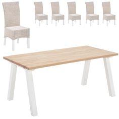 Essgruppe Stouby/Rio (180x90, 6 Stühle) Jetzt bestellen unter: https://moebel.ladendirekt.de/kueche-und-esszimmer/stuehle-und-hocker/esszimmerstuehle/?uid=74b18cbb-eca5-5524-9a40-2f760d70e599&utm_source=pinterest&utm_medium=pin&utm_campaign=boards #essgruppen #kueche #esszimmerstuehle #esszimmer #hocker #stuehle Bild Quelle: www.daenischesbettenlager.de