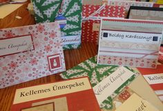We have made greeting cards using Hungarian language but I am sure this idea can be used for Italian, French, German, or any other language! Have fun on this DIY!