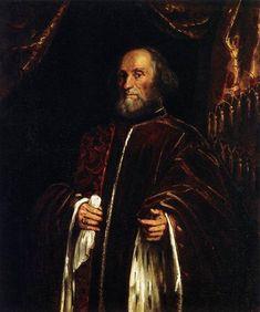 Retrato de un senador, 1580 - Tintoretto