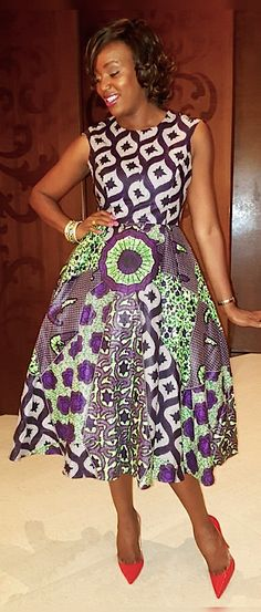 Lecticia's By Gersy Pegado. African Outfits, African Print Dresses, African Attire, African Wear, African Style, African Fashion Dresses, African Beauty, African Dress, Ankara Fashion