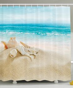 Beach Shower Curtains Discover The Best Themed And Coastal To