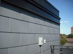 FlatLok Metal Wall Panel From IMETCO   Rectangular Profile In United Zinc.  Zinc CladdingExterior ...
