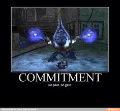 commitment....halo meme