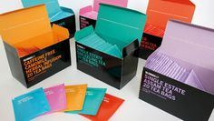 selfridges typographic packaging